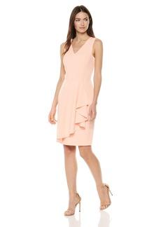 Calvin Klein Women's Lux Ruffle Dress