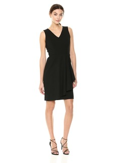 Calvin Klein Women's Lux Ruffle Dress