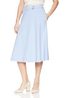 Calvin Klein Women's Lux Skirt with Buckle