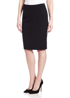 Calvin Klein Women's Lux Stretch Pencil Skirt