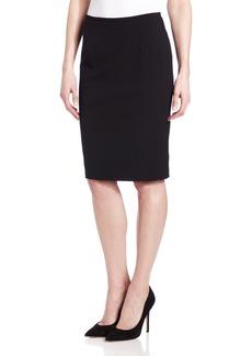 Calvin Klein Women's Lux Stretch Pencil Skirt