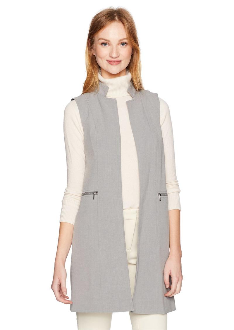 Calvin Klein Women's Lux Stretch Vest with Zips