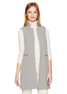 Calvin Klein Women's Lux Stretch Vest with Zips tin