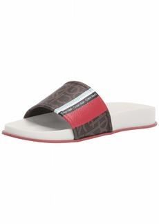 Calvin Klein Women's Marlo Flat Sandal   M M US
