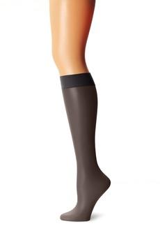 Calvin Klein Women's Matte Ultra Sheer Knee High Sock with Comfort Top