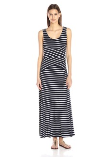 Calvin Klein Women's Striped Maxi Dress  Medium