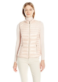 Calvin Klein Women's Metallic Puffer Vest  X-Large
