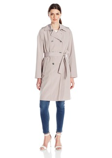 Calvin Klein Women's Mid Length Classic Db Trench