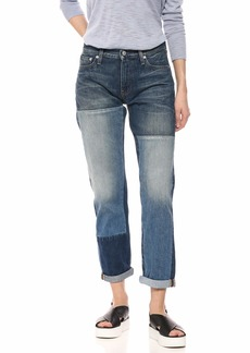 Calvin Klein Women's Mid Rise Boyfriend Fit Jeans