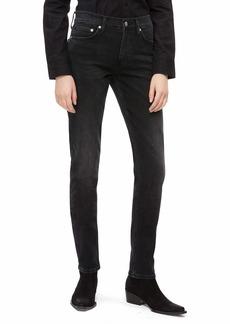 Calvin Klein Women's Mid Rise Slim Fit Jeans Denver washed black 31X32