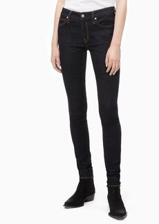Calvin Klein Women's Mid Rise Super Skinny Fit Jeans Malibu blue rinse 31W X 28L