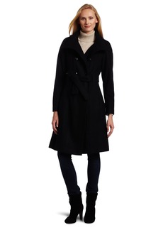 Calvin Klein Women's Military 3/4 length Coat