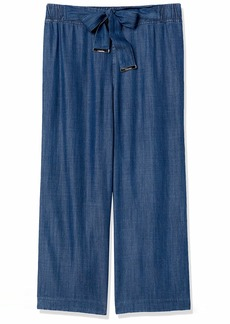 Calvin Klein Women's Misses Crop Pull ON Pant