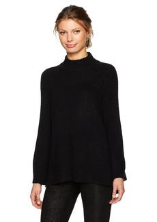 Calvin Klein Women's Mockneck Bell Sleeve Sweater  L