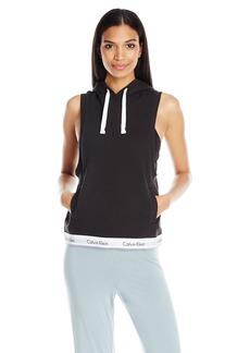 Calvin Klein Women's Modern Cotton Full Zip Hoodie  L