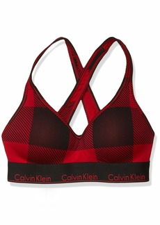 Calvin Klein Women's Modern Cotton Lightly Lined Bralette