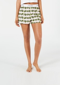 Calvin Klein Women's Modern Cotton Pajama Shorts QS6080
