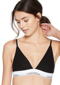 Calvin Klein Women's Modern Cotton Triangle Bra