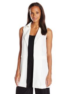 Calvin Klein Women's Moto Vest W/ Zips