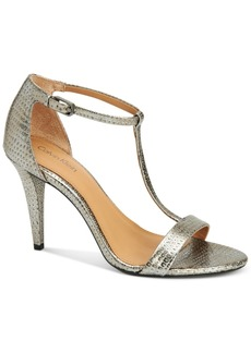 Calvin Klein Women's Nasi T-Strap Dress Sandals Women's Shoes