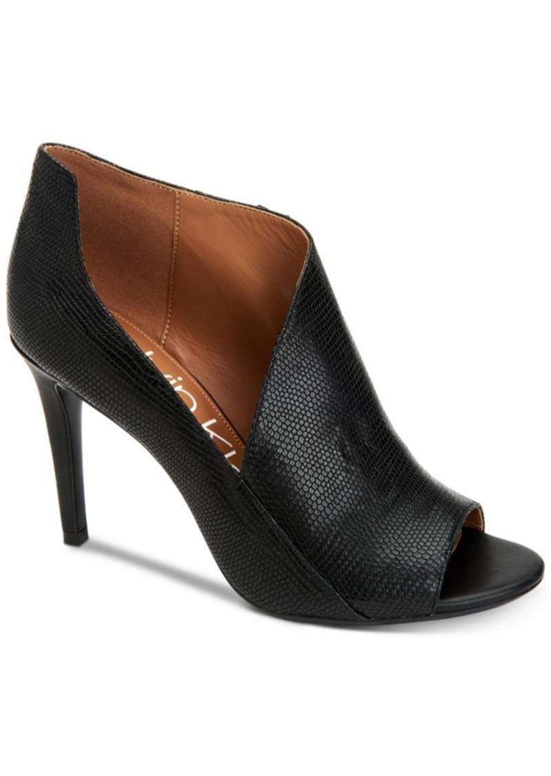 Calvin Klein Women's Nastassia Ankle Booties Women's Shoes