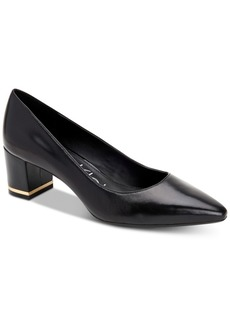 Calvin Klein Women's Nita Block-Heel Pumps Women's Shoes