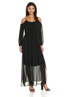 Calvin Klein Women's Off The Shoulder Maxi Dress  S