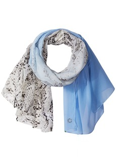 Calvin Klein Women's Ombre Over Animal Scarf