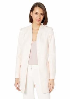 Calvin Klein Women's Open Boucle Jacket
