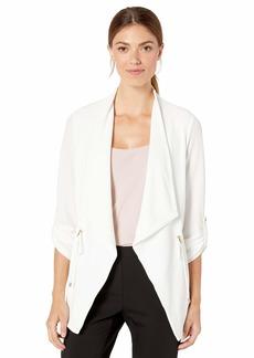 Calvin Klein Women's Open Jacket with Drawstring