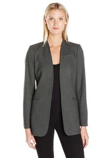 Calvin Klein Women's Open Menswear Long Jacket
