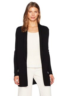 Calvin Klein Women's Open Sweater with Sheer Back  XL