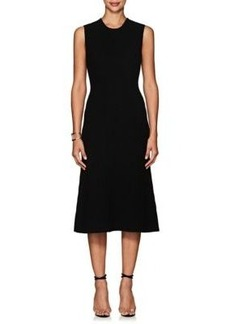 Calvin Klein Women's Ottoman-Knit Cashmere Midi-Dress