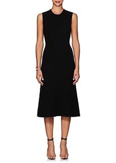 Calvin Klein Women's Ottoman-Knit Cashmere Midi-Dress