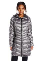 Calvin Klein Women's Packable Down Coat with Hood