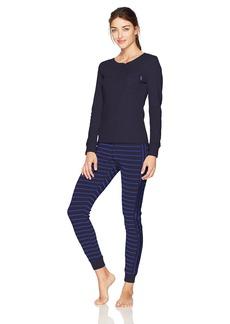 Calvin Klein Women's Pajama Gift Set Minimal Stripe_Fusion