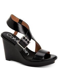 Calvin Klein Women's Palma Wedge Sandals Women's Shoes