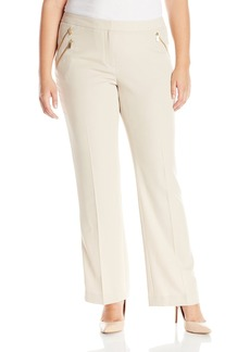 Calvin Klein Women's Pant with 3 Zips