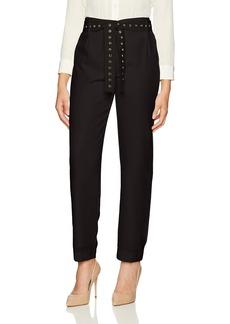 Calvin Klein Women's Pant W/Studded Belt