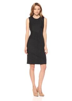 Calvin Klein Women's Patchwork Sheath Dress