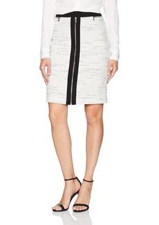 Calvin Klein Women's Pencil Skirt with Ponte