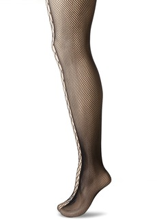 Calvin Klein Women's Perfect Essentials Fishnet Tights 2 Pair Pack