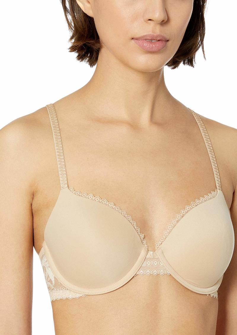 Calvin Klein Women's Perfectly Fit Perrenial Lightly Lined Full Coverage Bra Beige
