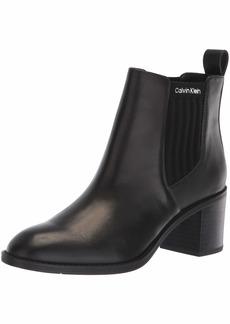 Calvin Klein Women's Perron Ankle Boot Black  Medium US