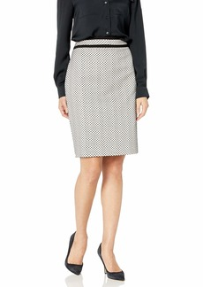 Calvin Klein Women's Piped Novelty Skirt