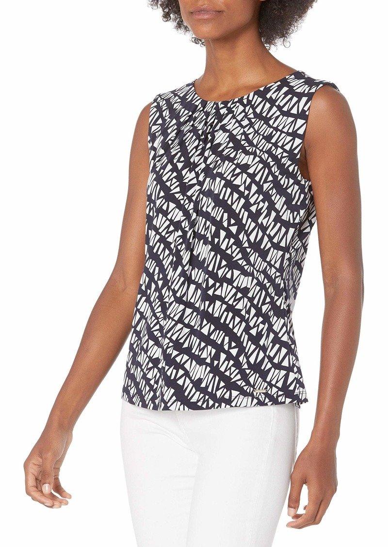 Calvin Klein Women's Pleat Neck Cami