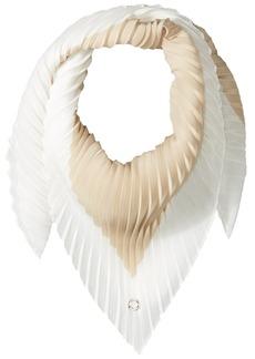 Calvin Klein Women's Pleated Diamond Scarf