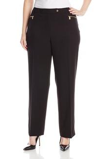 Calvin Klein Women's Plus-Size 3 Pocket Suiting Pant