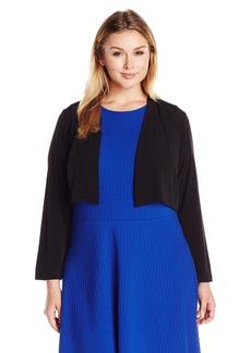 Calvin Klein Women's Plus Size Basic Jersey Shrug