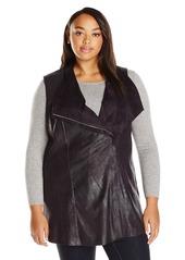 Calvin Klein Women's Plus Size Distressed Vest